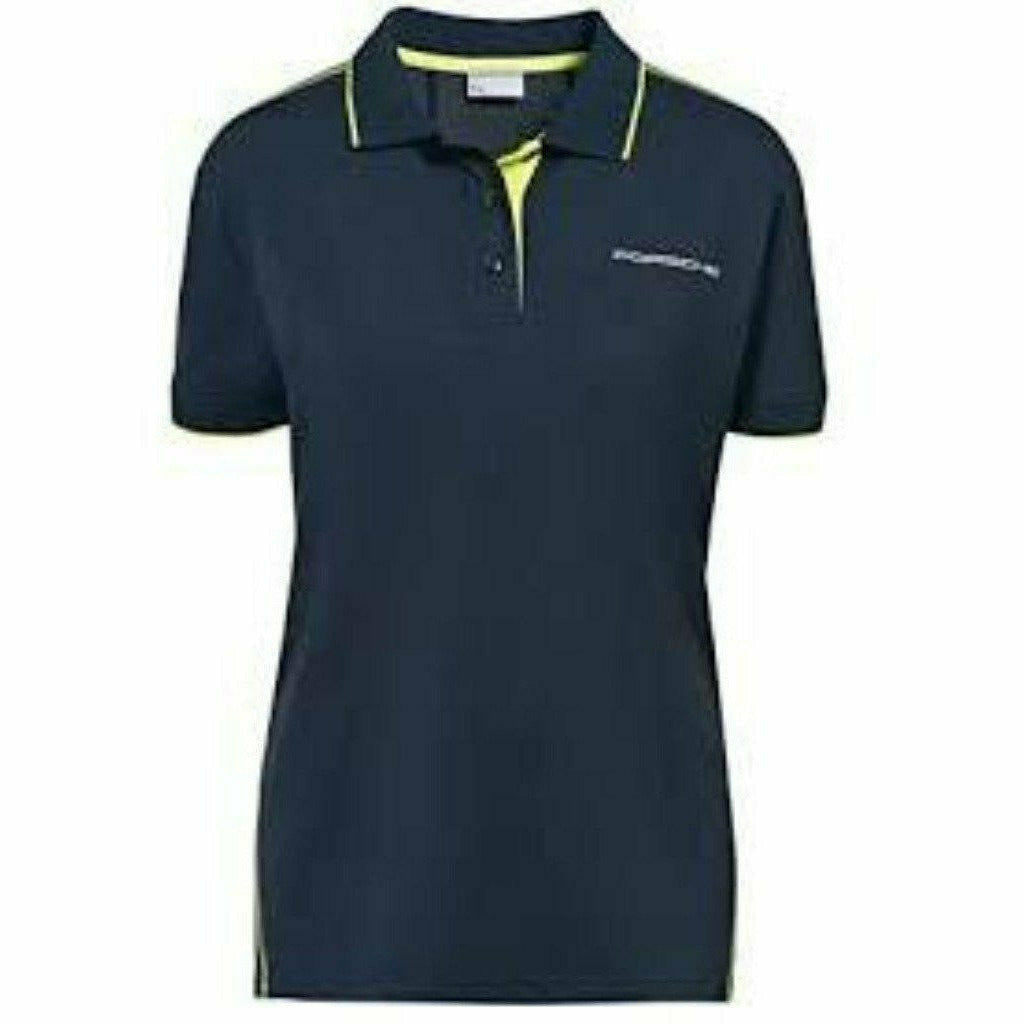 Porsche Design Women's Functional Pique Polo - Dark Blue