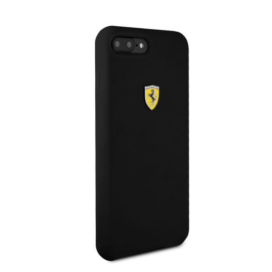 FERRARI BLACK SMOOTH SILICONE HERITAGE CASE