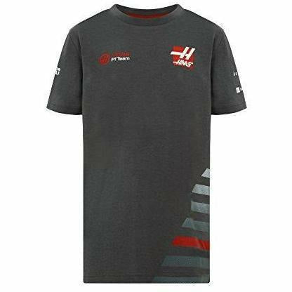 Haas American Team Formula 1 Authentic Kids Gray T-Shirt