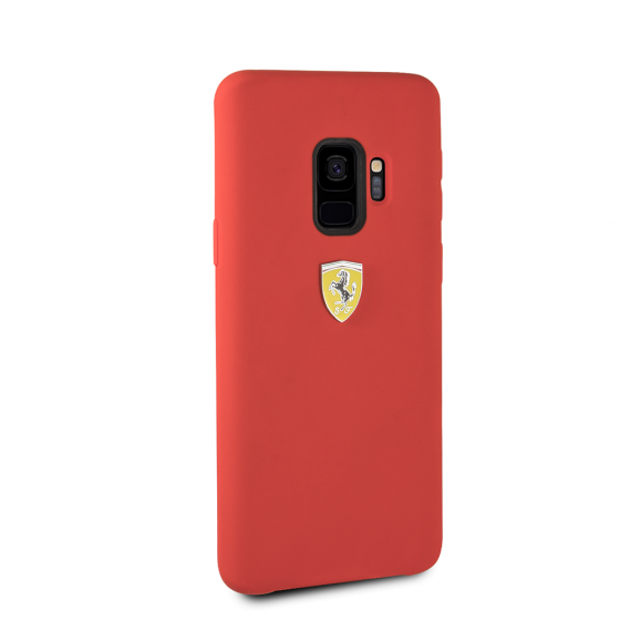 FERRARI RED SMOOTH SILICONE HERITAGE CASE