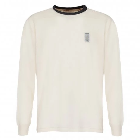 Maserati Men's Cream Sweatshirt