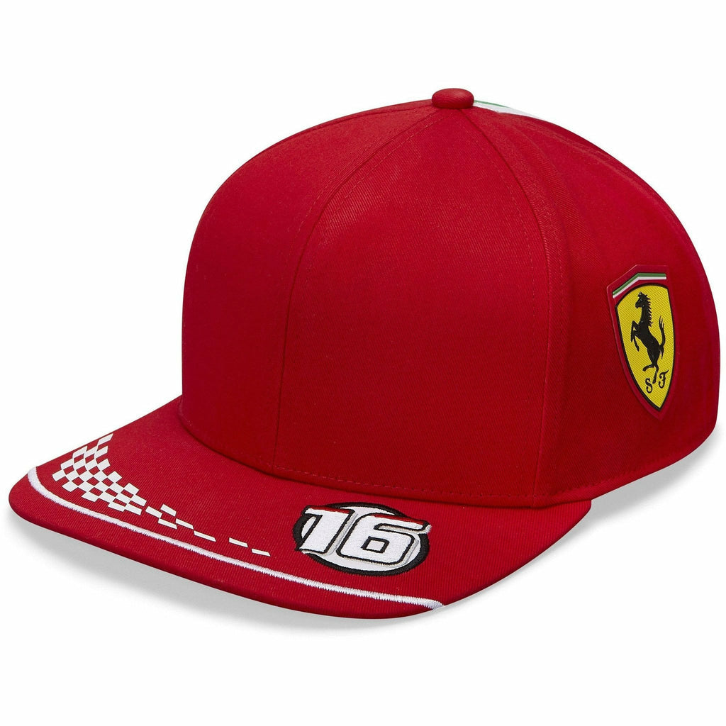 Scuderia Ferrari F1 2020 Kids Charles Leclerc Team Hat Red