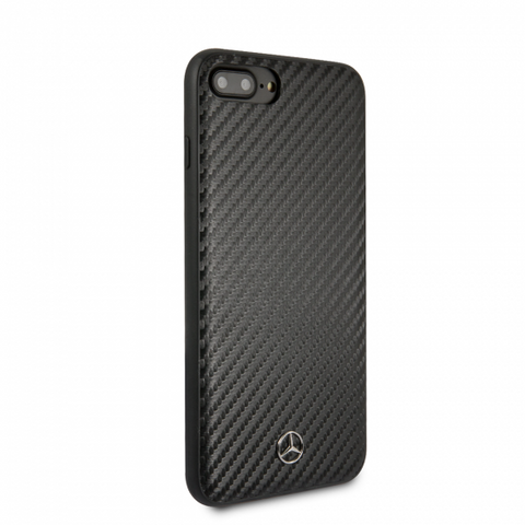MERCEDES BENZ PU CARBON FIBER DYNAMIC PATTERN CASE