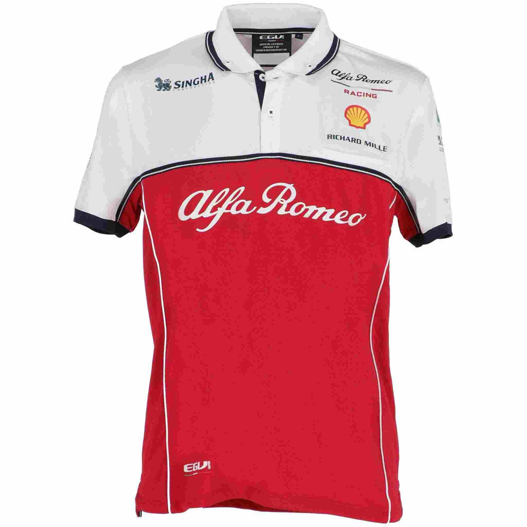 Alfa Romeo 2019 Kids Team Polo Shirt