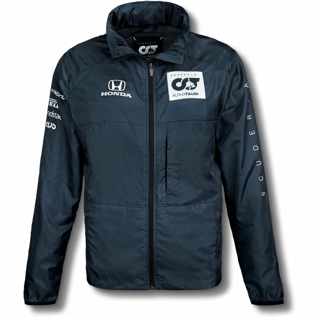 Scuderia AlphaTauri 2020 Men's Team Packable Jacket Navy