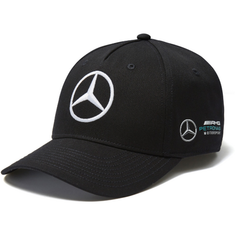 Mercedes Benz AMG Petronas F1 Valtteri Bottas 2018 Black Baseball Hat