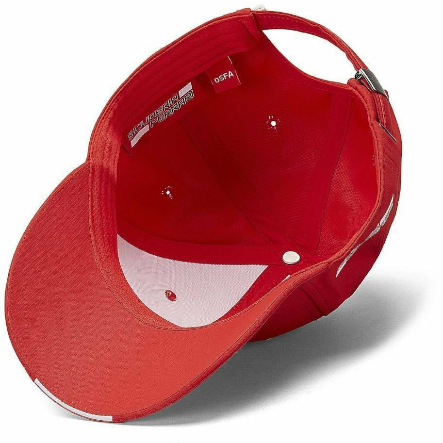 Scuderia Ferrari F1 Red Carbon Hat
