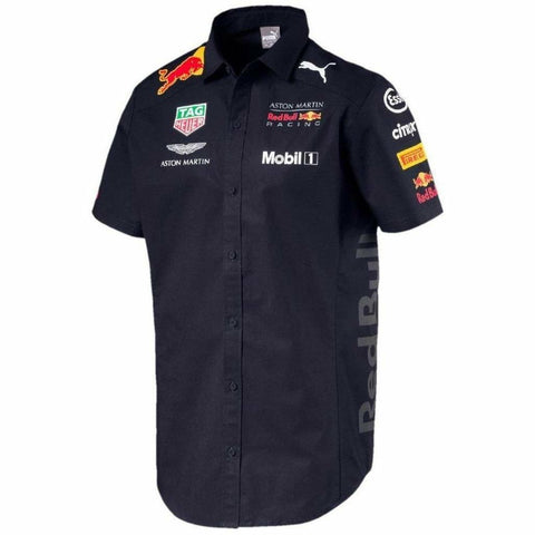 Red Bull Formula 1 Aston Martin 2018 Men's Team Blue Team Shirt