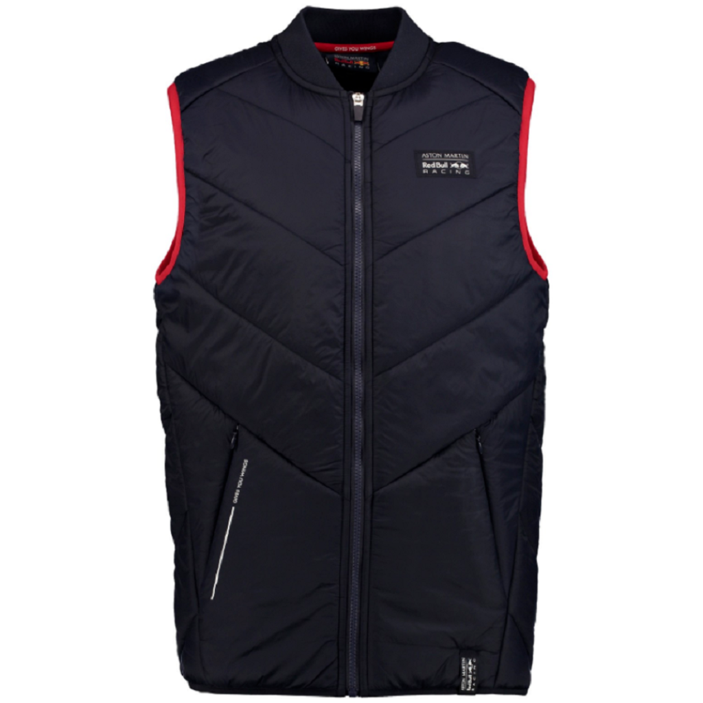 Red Bull Formula 1 Aston Martin Men's Blue Padded Vest