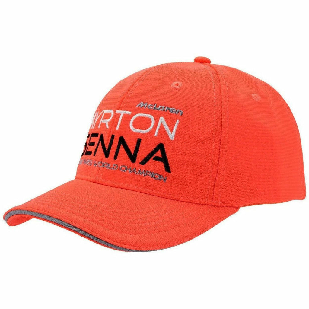 Ayrton Senna Authentic Rocket Red McLaren Hat