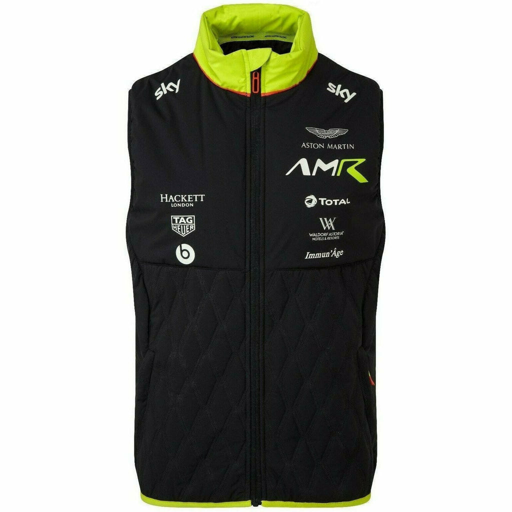 Aston Martin Racing 2020 Men's Navy Team Vest