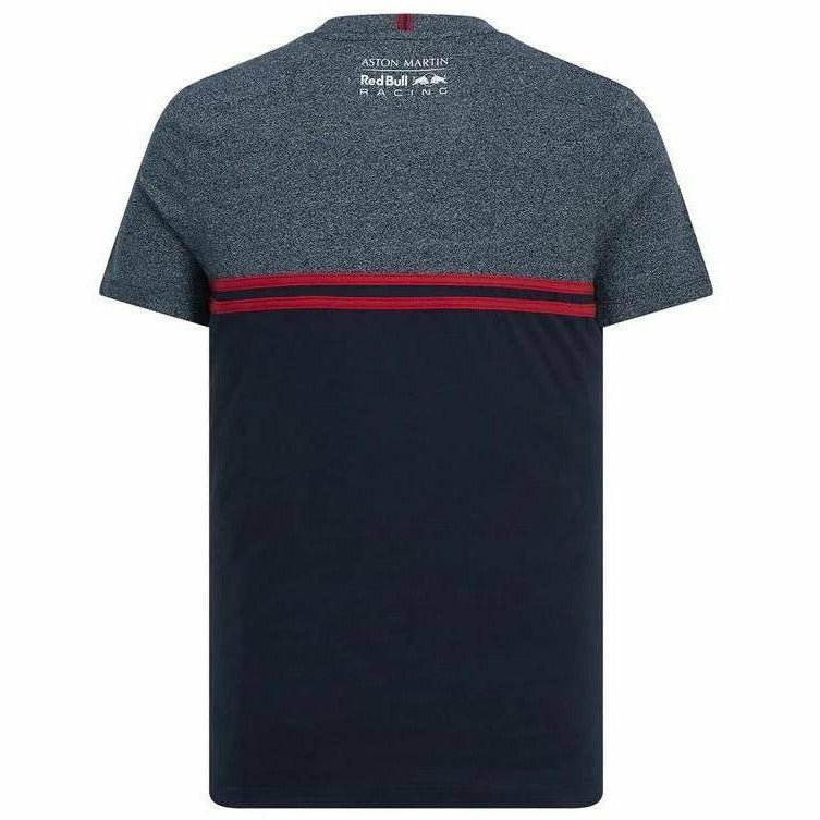 Red Bull Racing Men's Navy Injection T-Shirt