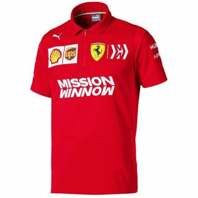 Scuderia Ferrari 2019 F1 Team Polo Shirt