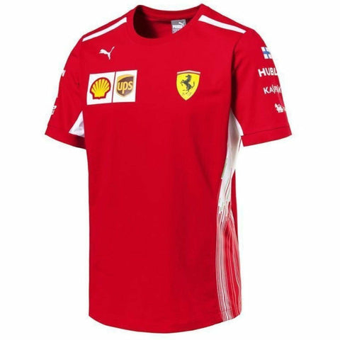 Scuderia Ferrari Formula 1 Men's Red 2018 Kimi Raikkonen Team T-Shirt
