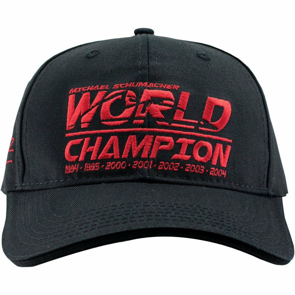 Michael Schumacher World Champion Cap, Black