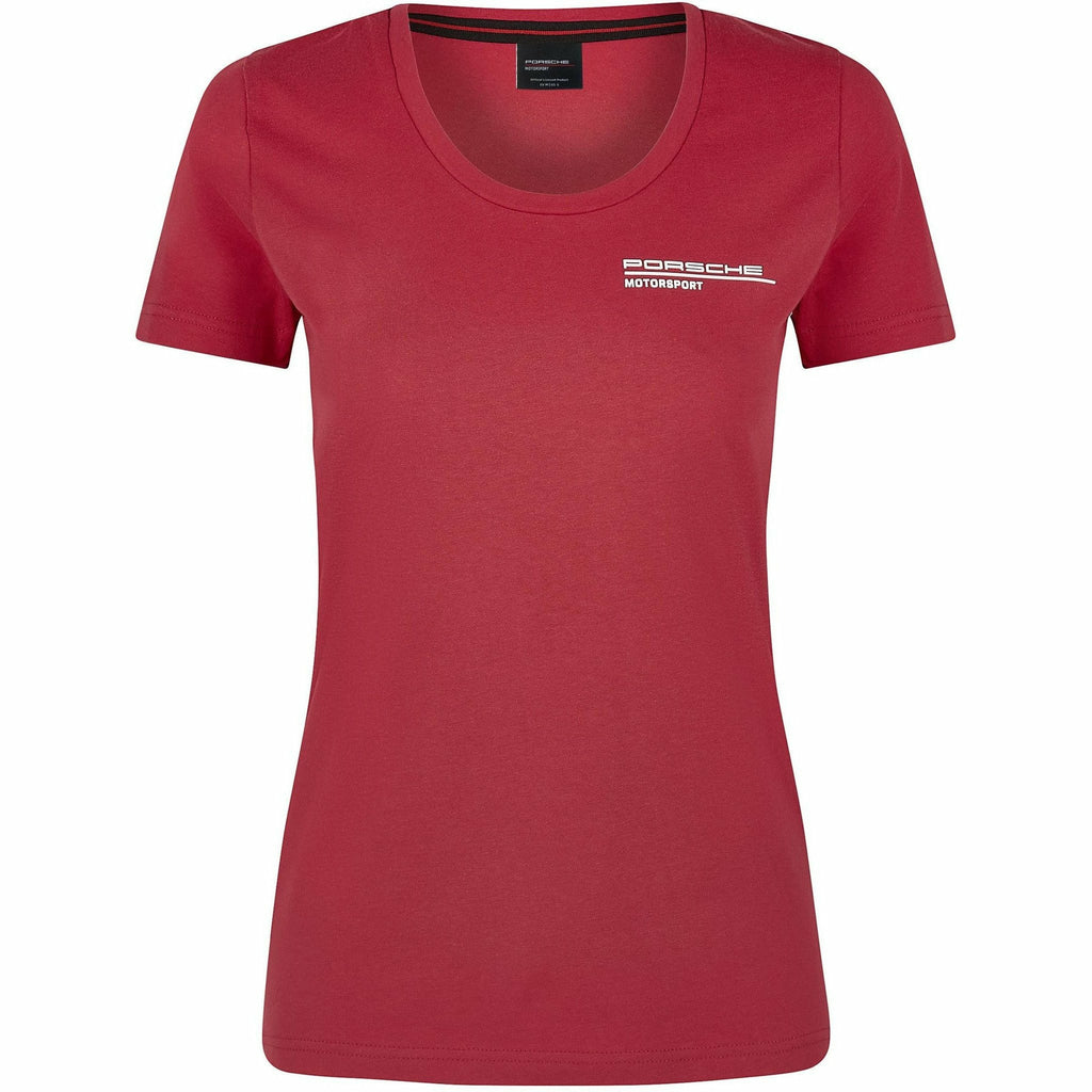 Porsche Motorsport Women's Red T-Shirt