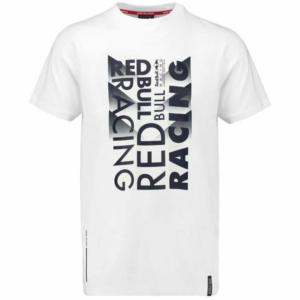 Red Bull Formula 1 Aston Martin 2018 Men's White Chase T-Shirt