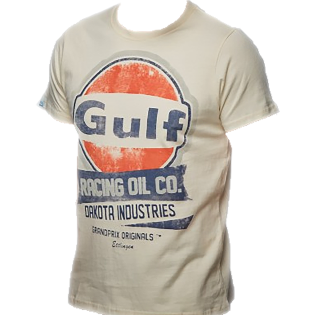 Gulf Oil Racing Men's T-Shirt Cream