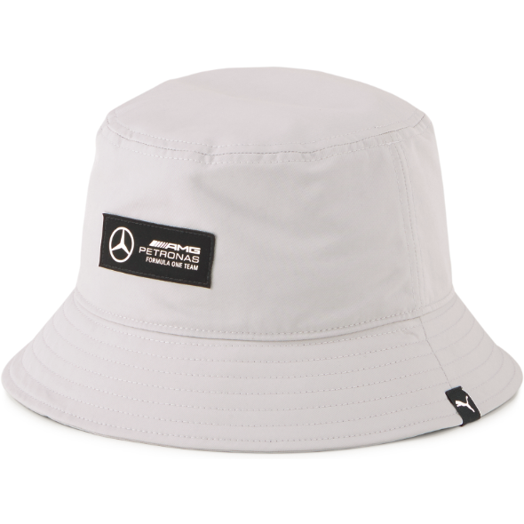 Mercedes Benz AMG Petronas F1 Puma Bucket Hat-Black/Silver/Green