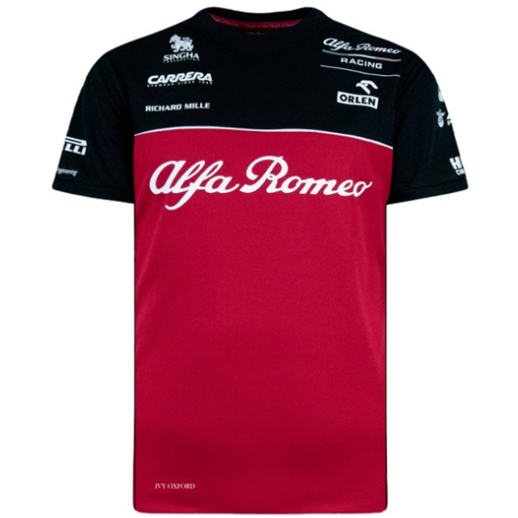 Alfa Romeo Racing F1 2020 Men's Team T-Shirt