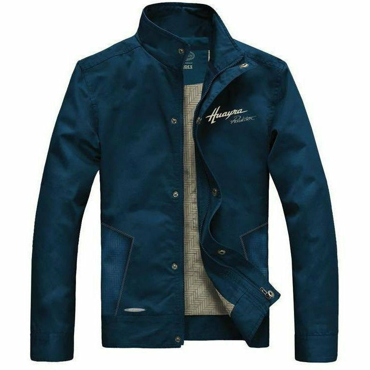 Pagani Huayra Roadster Men's Windproof Jacket Blue