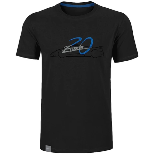 Pagani Zonda 20th Men's Black T-Shirt
