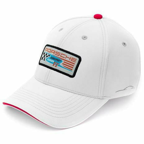 Porsche Rennsport Patch Hat White