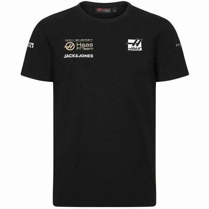 Rich Energy Haas 2019 F1 Kids Team T-Shirt Black
