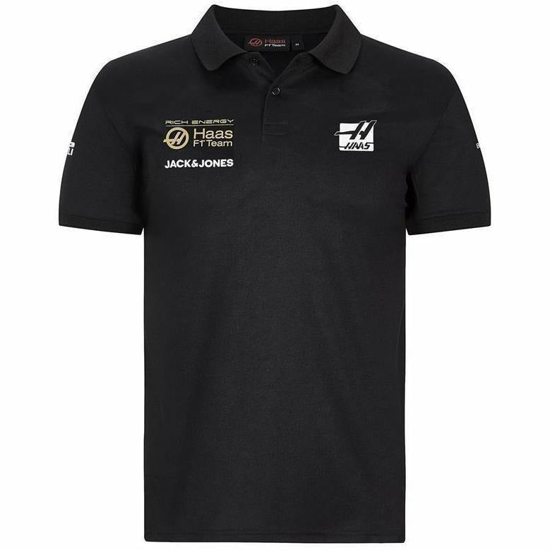 Rich Energy Haas 2019 F1 Team Polo Black