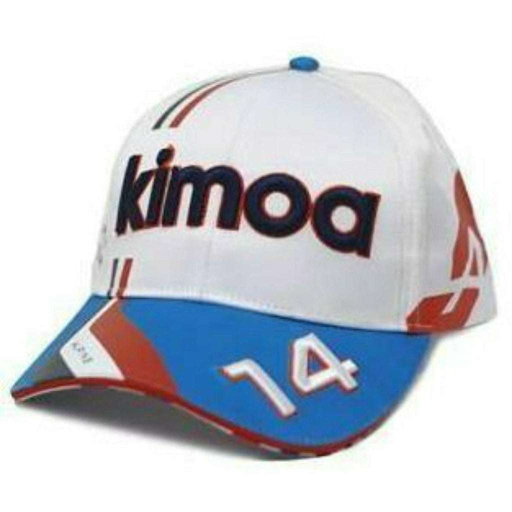 Alpine Racing F1 2021 Team Fernando Alonso French GP Hat - White
