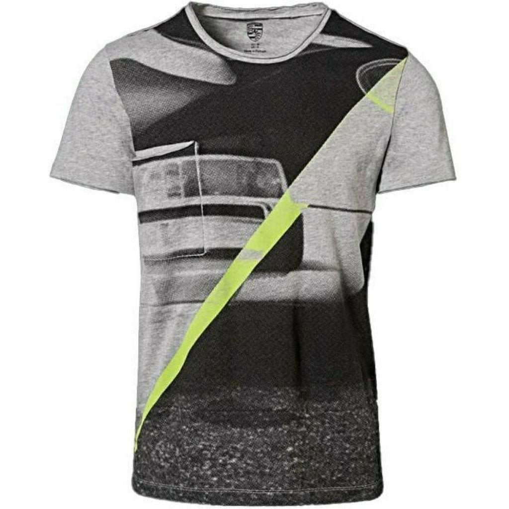 Porsche Design Hashtag Collection Unisex T-Shirt -Gray