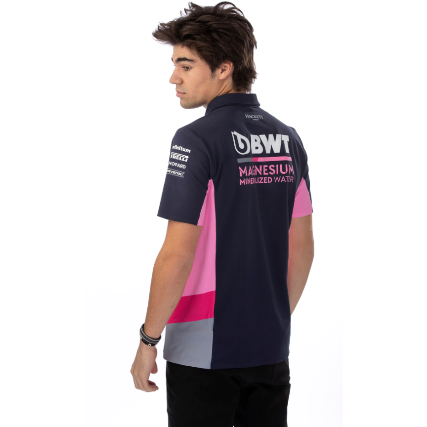 Racing Point F1 2020 Men's Team Polo Shirt Blue
