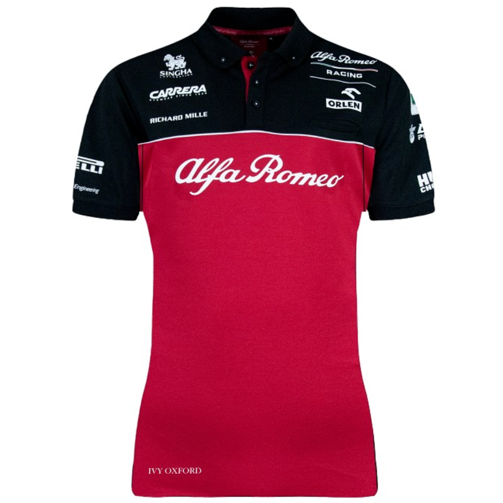 Alfa Romeo Racing F1 2020 Women's Team Polo Shirt