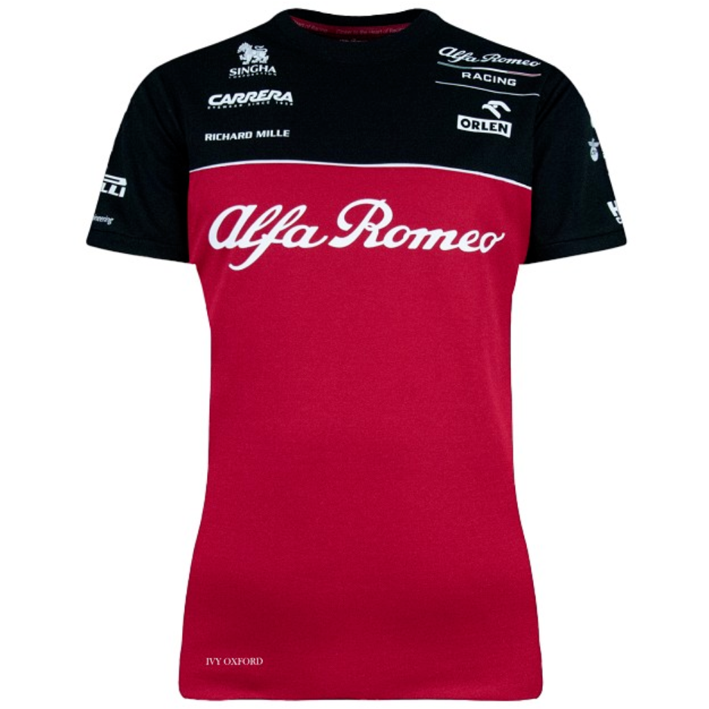 Alfa Romeo Racing F1 2020 Women's Team T-Shirt