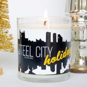 Steel City Holiday Candle: Holiday 2020 Candle Collection