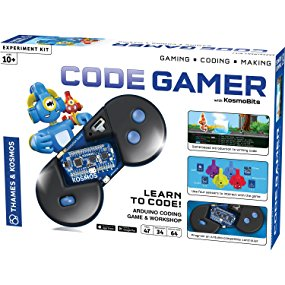 Thames & Kosmos Code Gamer Coding Workshop and Game