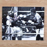 100009 - Larry Holmes Hand Signed Classic Photo