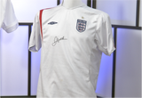 100033 -  David Beckham personally signed England Shirt