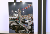 100078 - Lewis Hamilton Action Photo Personally Signed