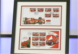 100083 - Ferrari Framed Gibraltar Exclusive Ferrari Pair of Commemorative Covers