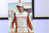 100086 - Nico Hulkenberg Action Photo Personally Signed
