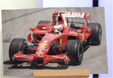 100092 - Filipe Massa Action Photo Personally Signed