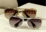 100149 - Elvis a Pair of Gold & Silver Elvis Sunglasses