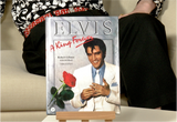 100152 - Elvis - 'A King Forever' Hardback Collectors Book  (Third Reprint)