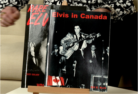 100163 - Elvis Double 'Elvis in Canada' & 'Rare Elvis' - a pair of 2 Elvis biography collectors books.