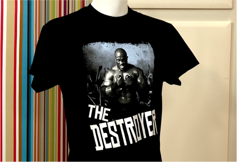 100179 - USA Superstars Fab T Shirt - Bobby Lashley