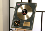 "100187 - Queen ""Greatest Hits"" Framed & Mounted Gold Disc"