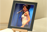 100188 - Amy Winehouse Mounted Colour Photo Personally Signed