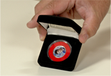 100200 - Elvis Presley - Merry Xmas Collection Colorised Original USA Coin in Protective Case