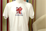 300025 - London 2012 White Official T-Shirt
